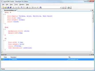 XML Editor, XSD Editor, Data Mapper, JSON and Web Services