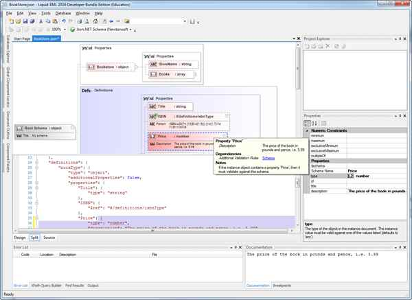 Graphical JSON Schema Editor