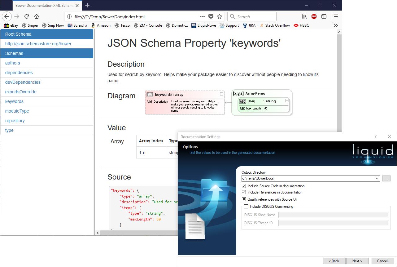 Json schema documentation generator ccuart Images