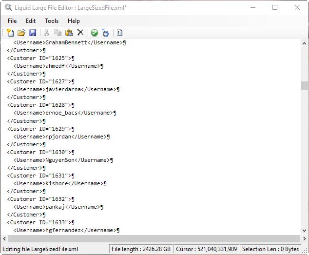 Free Large File Editor