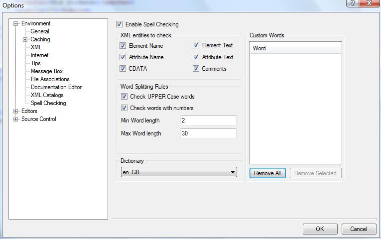 XML Spell Checker
