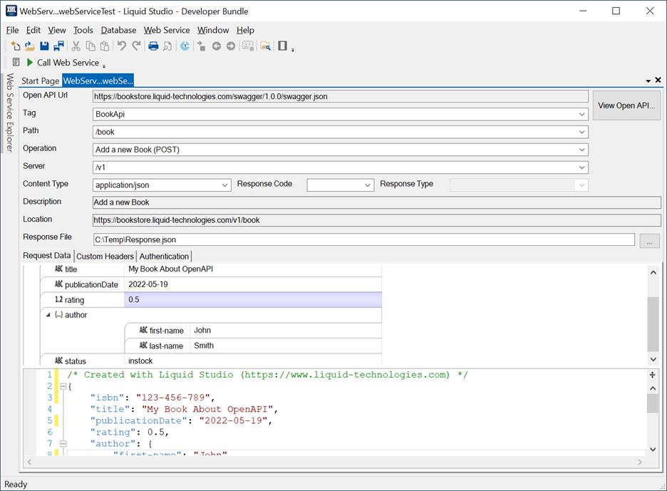 Web Service Test Client