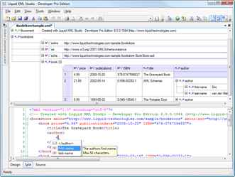 Graphical XML Editor