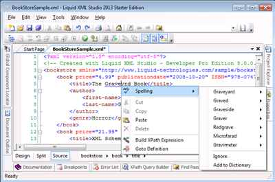 XML Spell Checker