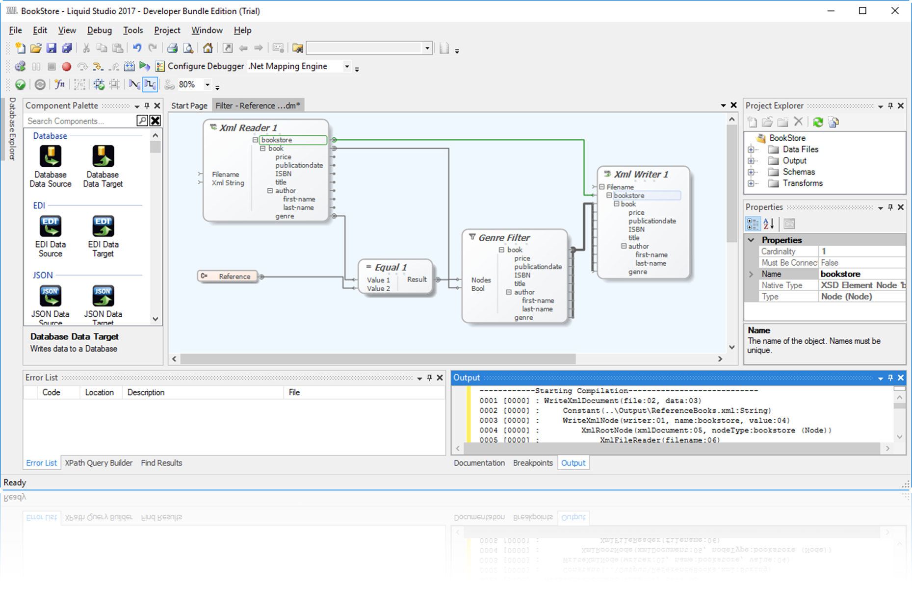 liquid studio data mapper is a powerful data mapping tool that allows youto integrate map and transform your data between multiple data sources and. data mapper