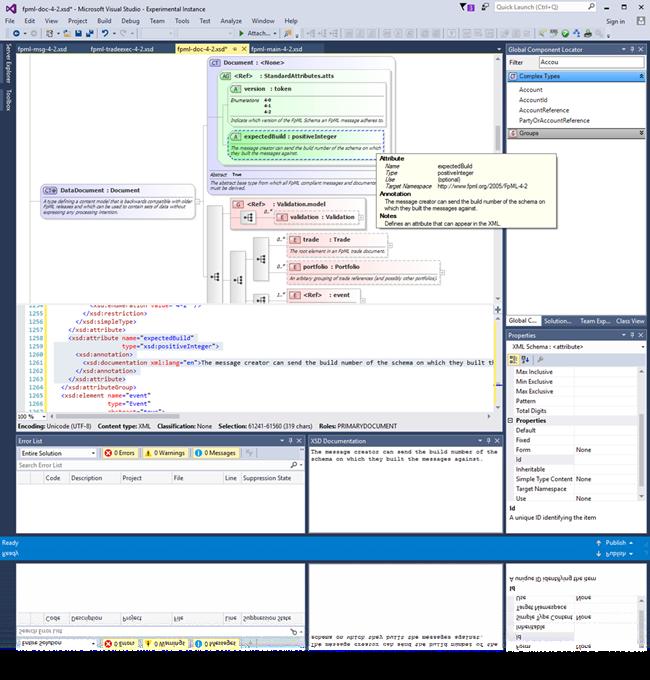 Liquid xsd editor and web service tools visual studio marketplace xsd editor for visual studio ccuart Choice Image
