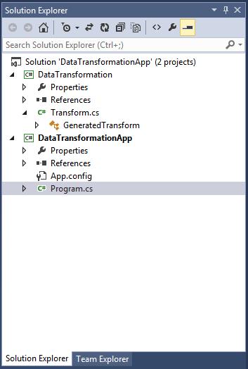 Liquid XML Studio 2019 - Generated Data Mapper Code for C#