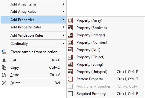 Liquid XML Studio 2019 - Additional Properties