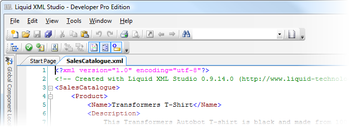 create an xml version of your resume