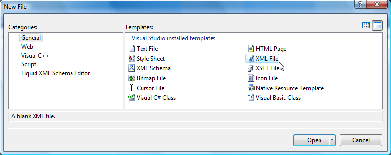 Creating Your First Schema Using Visual Studio Extension