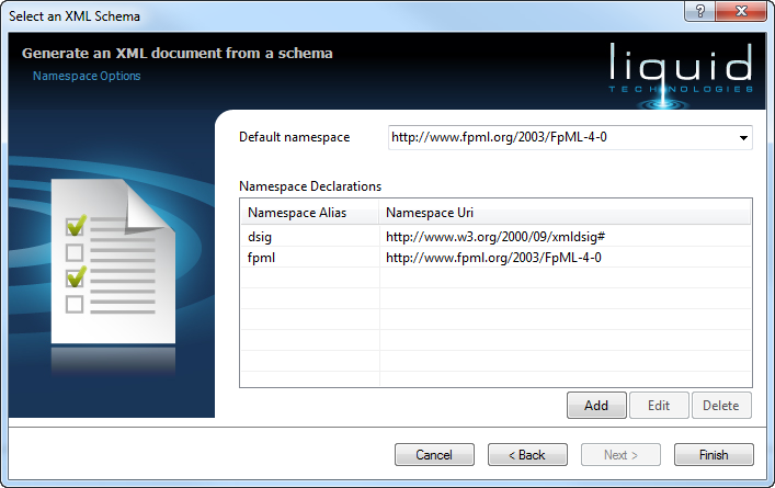 Create Sample XML Document